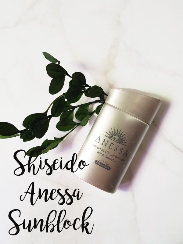 shiseido anessa essence UV aqua booster sunscreen