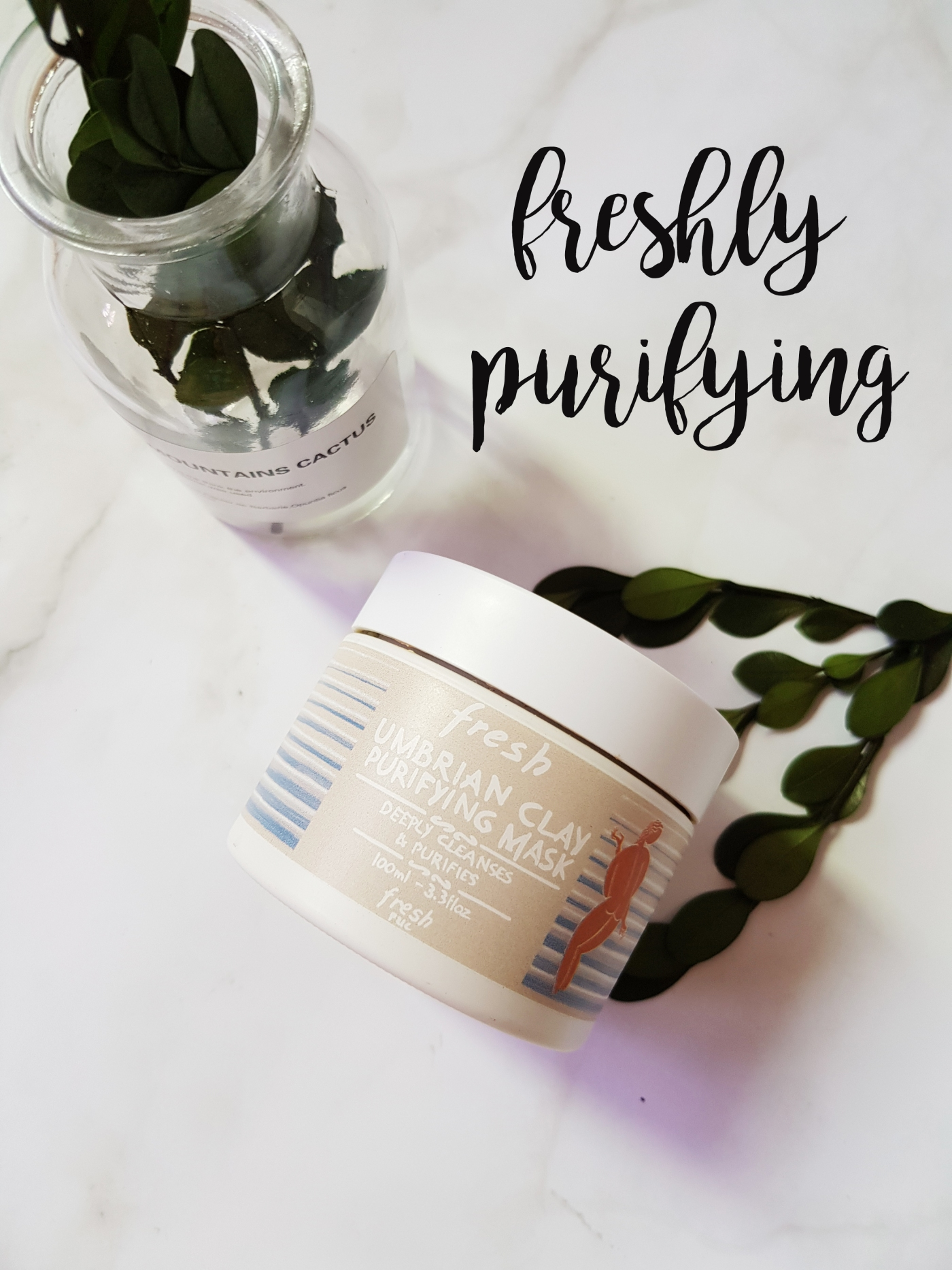 fresh umbrian clay purifying mask