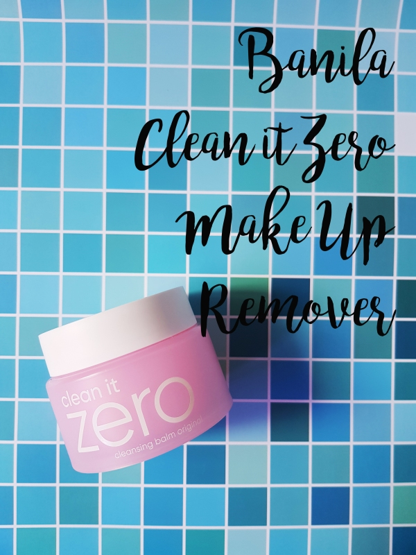 banila clean it zero makeup remover