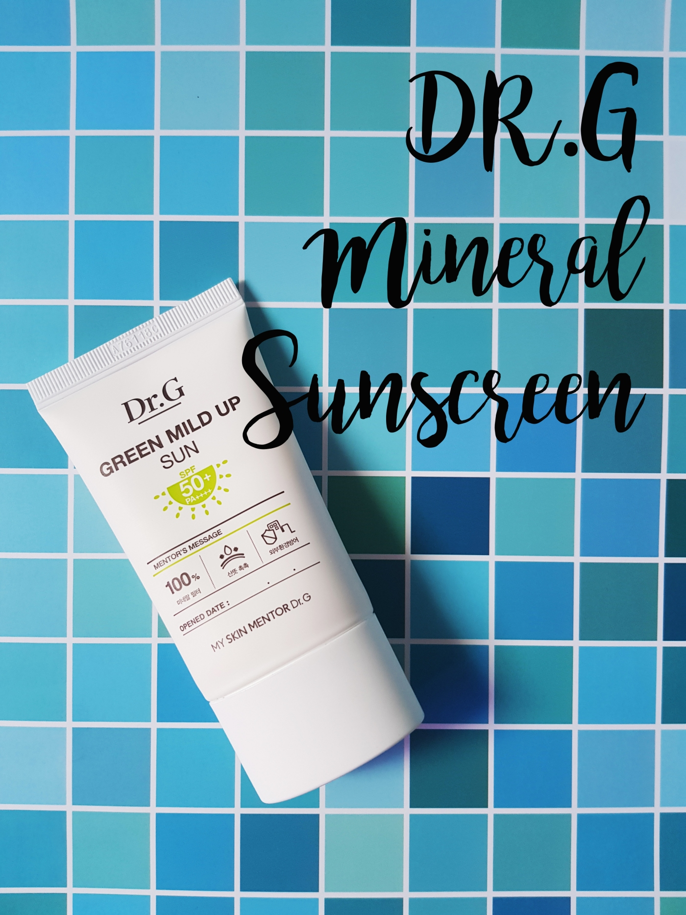 Dr. G mild up sunscreen spf50
