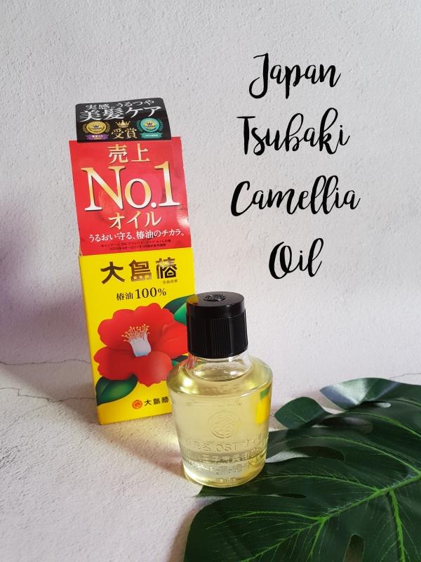 Japan Tsubaki Camellia Oil