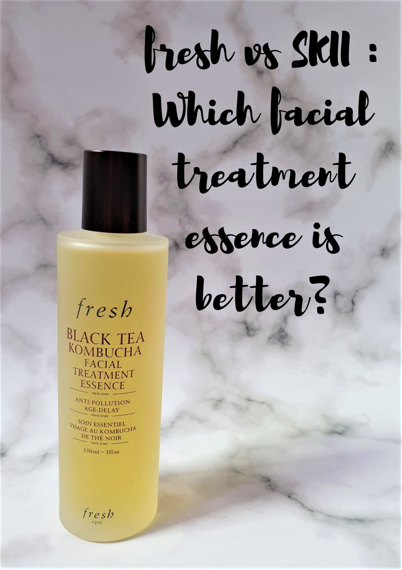 fresh black tea kombucha facial treatment essence (
